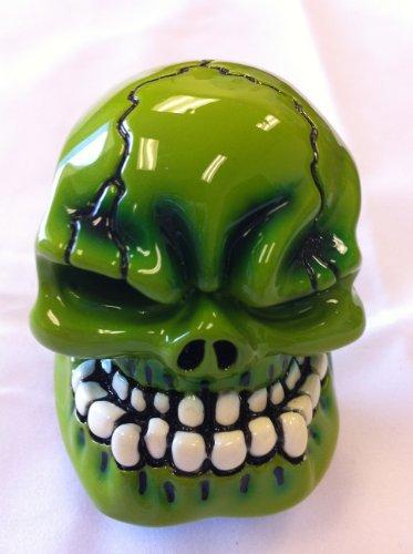 D1 Universal Fit Neon Green Skull Head Shift Knob (BRAND NEW)