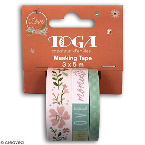Toga Masking Tape Maison de Campagne 3 pcs