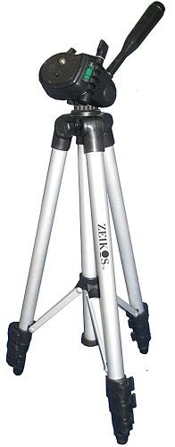 """Zeikos ZE-TR26A 50-Inch Photo/Video Travel Tripod Includes Deluxe Tripod Carrying Case for Use with Digital Cameras and Camcorders"