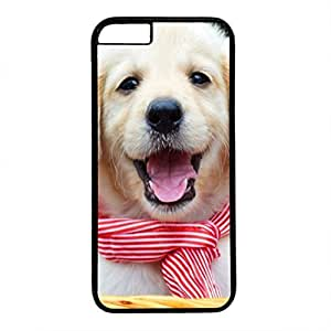 Hard Back Cover Case for iphone 6,Cool Fashion Black PC Shell Skin for iphone 6 with Funny Dog