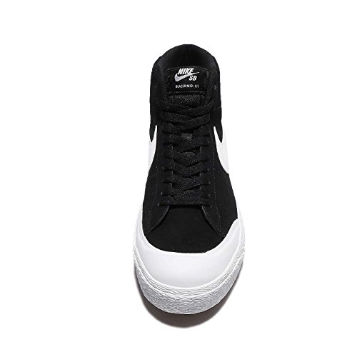 NIKE Sb Blazer Zoom Mid Xt Herren Skateboardschuhe Schwarz / Weiß-Gummi