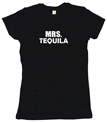 Mezcal Reposado - Mrs Tequila Women's Babydoll Tee Shirt XL-Black