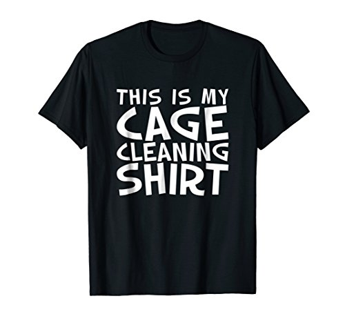 Bird Cage Cleaning T-shirt for Parrot Men, Women, or Kids ()