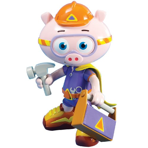 (Learning Curve Brands Super Why - Alpha Pig Action Figure )
