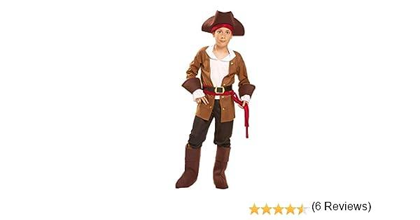My Other Me Me-200604 Piratas Disfraz de Bucanero para niño, 3-4 ...
