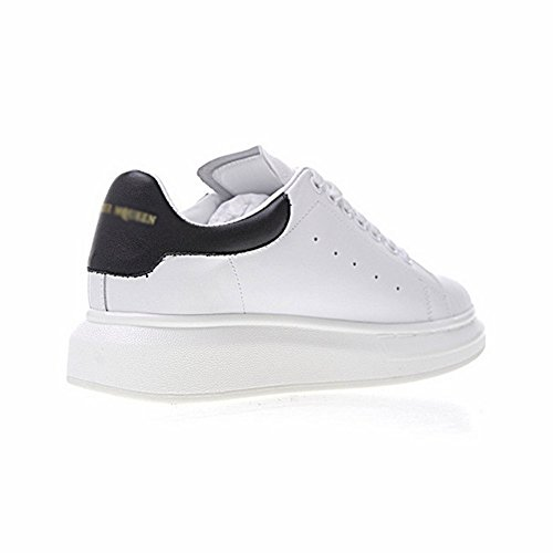 Chaussures en Noir Hautes Sole Antichoc Femme Sneakers Antidérapant Loisir Blanc Cuir Femme Baskets Sneakers Entraînement Baskets Running AxnwpfaO8