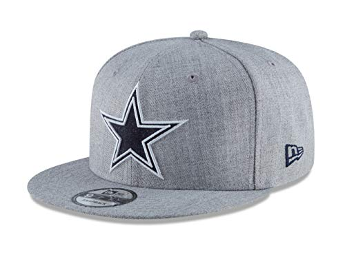 New Era Dallas Cowboys 9Fifty Heather Hype Adjustable Snapback Cap ()