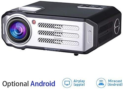 Mini proyectores Proyector WIFI Bluetooth, 1080p 3500 lúmenes HDMI ...