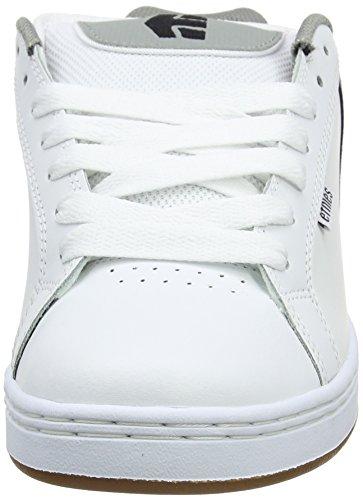 Hombre white Skateboard Grey 133 Blanco EtniesFader Zapatillas de Gum q7YxHt