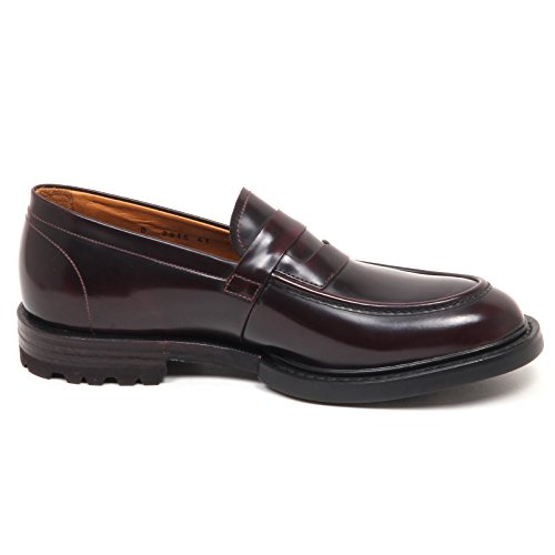 Barracuda E0640 Mocassino Uomo Bordeaux Scarpe Loafer Shoe Man Bordeaux