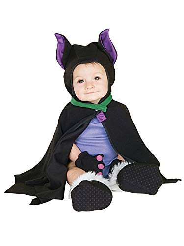 Rubie's Costume Co LIL BAT CAPED COSTUME 3-12 MOS,Black,Infant]()