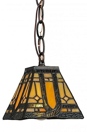 (Meyda Tiffany 148556 Lighting 5 sq. in. Finish: M/B)