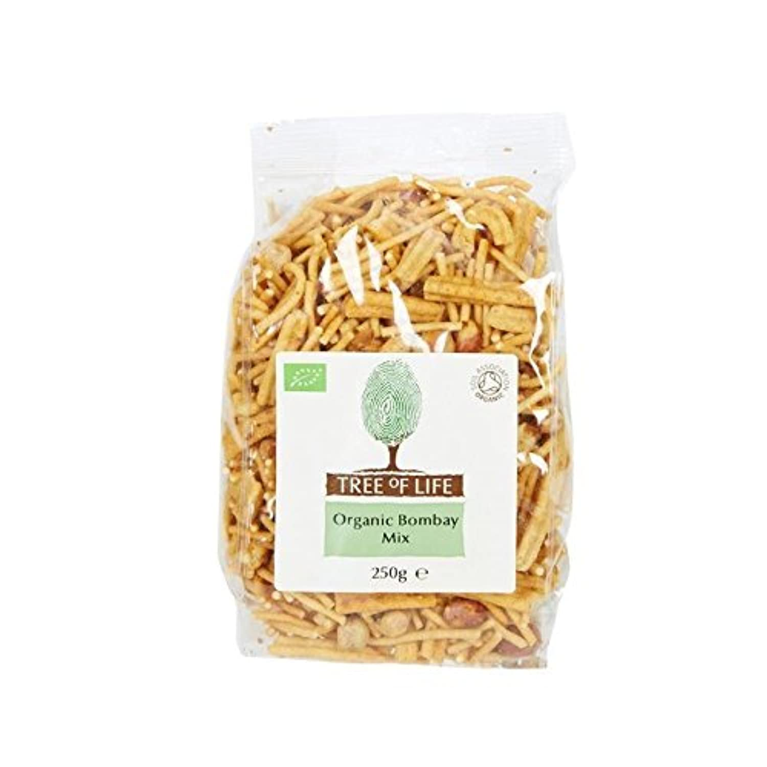 Tree of Life Organic Bombay Mix 250g - Pack of 2