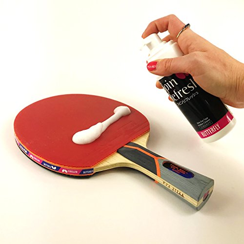 Butterfly Table Tennis Racket Care Kit Includes 1 Ping