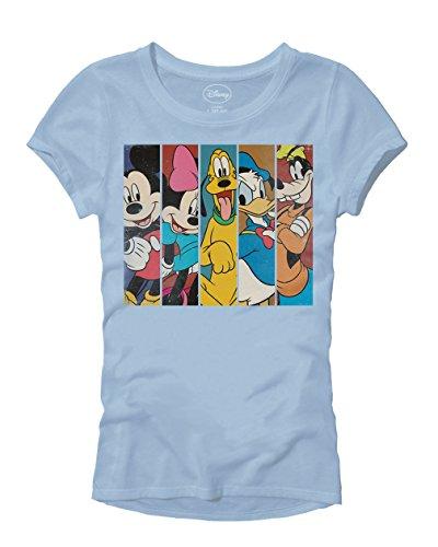 Disney Mickey Minnie Mouse Pluto Donald Duck Goofy Panels World Disneyland Funny Women