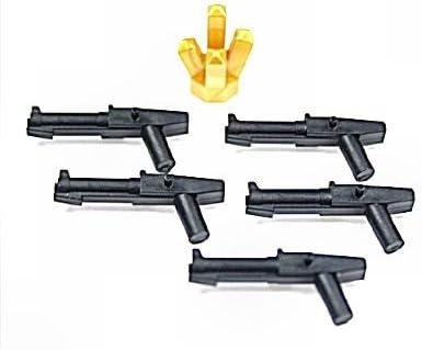 LEGO Star Wars - Blaster para Soldados clon (5 Unidades) y Cristal Dorado