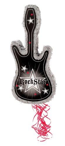"Party Destination - Rock Star 22"" Pull-String Pinata"