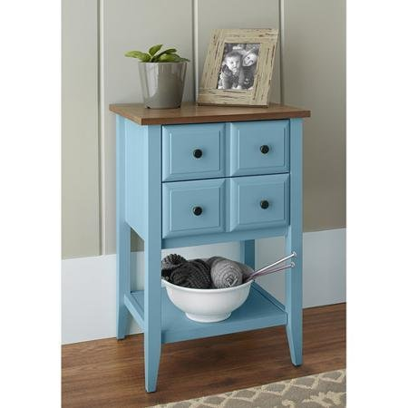 10 Spring Street Alton Drawer Cabinet, Blue