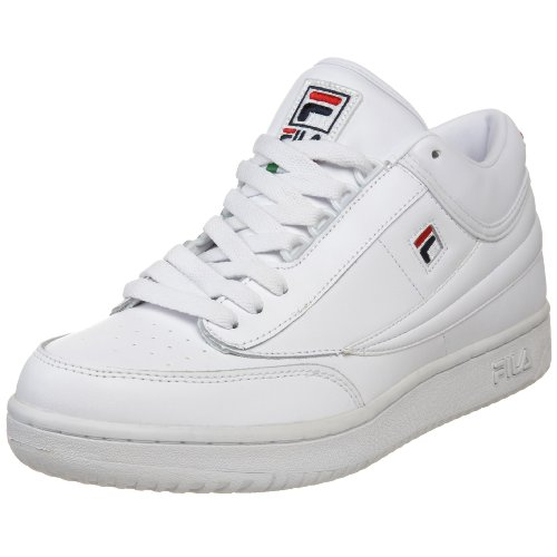 Fila Men's t1 mid, White/Peacoat/Chinese Red (B002ONCR20 ...
