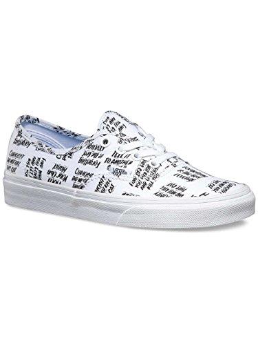 Vans - Authentic, Zapatillas Unisex adulto Blanco