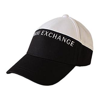 Armani Exchange pour Homme Twin colorés Casquette Baseball Casquette Golf  Noir, Bleu, Rouge - Noir, Taille Unique  Amazon.fr  Vêtements et accessoires 1534b397561