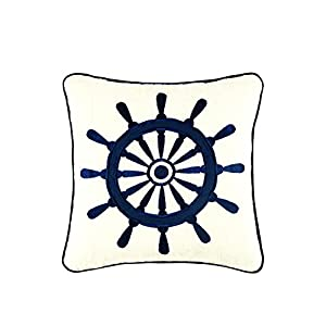 41vr5WCGktL._SS300_ 100+ Nautical Pillows & Nautical Pillow Covers