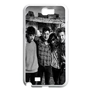 Mumford-and-Sons Samsung Galaxy N2 7100 Cell Phone Case White Wqtvn