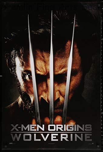 X-Men Origins: Wolverine Theatrical Release Movie Poster 2009 Hugh Jackman