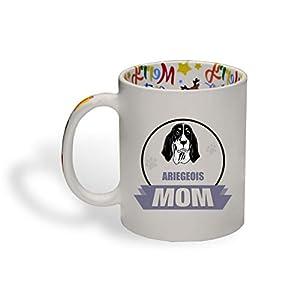 Ceramic Christmas Coffee Mug Mom Ariegeois Dog Funny Tea Cup 17