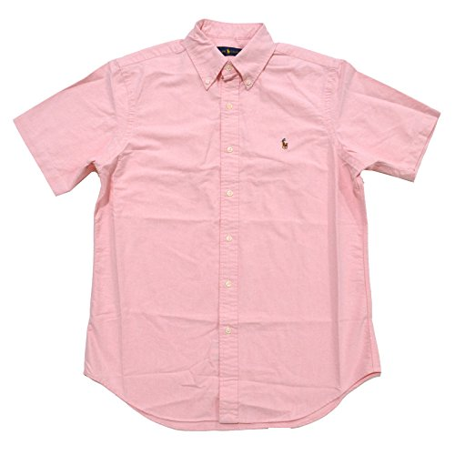 Ralph Lauren Men's Oxford Button-down Short Sleeve - P Ralph Lauren