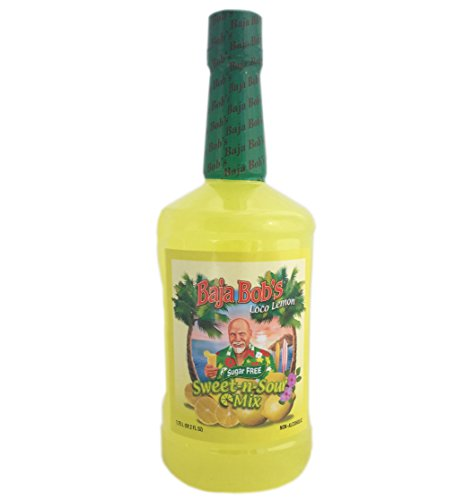 Baja Bob's Sweet and Sour Cocktail Mix (1.75 Liter) (Sweet And Sour Powder Mix)