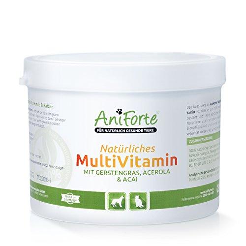 AniForte Natürliches Multivitamin 200g - Naturprodukt für Hunde und Katzen