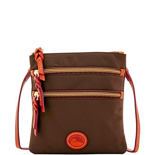 Dooney & Bourke Nylon North South Triple Zip Shoulder Bag by Dooney & Bourke