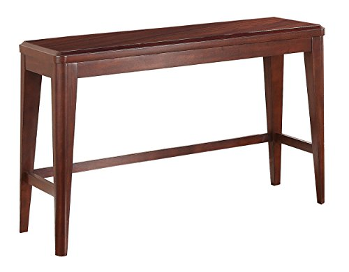 Homelegance Beaumont Contemporary Sofa Table, Cherry For Sale