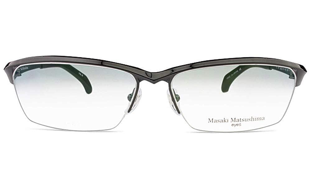 マサキマツシマ Masaki Matsushima mf-1222 c.3 メガネ 眼鏡  c.3 ガンメタル B07K83TMBF