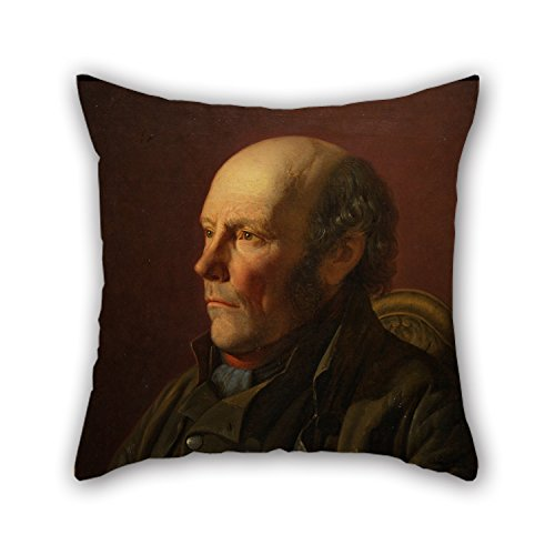 18 X 18 Inches / 45 By 45 Cm Oil Painting Lars Hansen - Swedish Peasant Throw Cushion Covers Twin Sides Ornament And Gift To Outdoor Kids Room Car Drawing Room Bedding Son (Oil Swedish Painting)