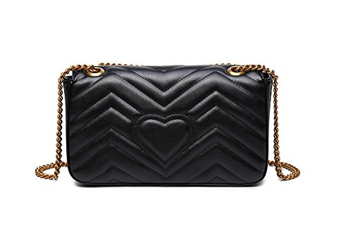 Temperament Gwqgz Spanning Handbag Lady Diamond New Single Skew Chain Bag Shoulder qqBwCS