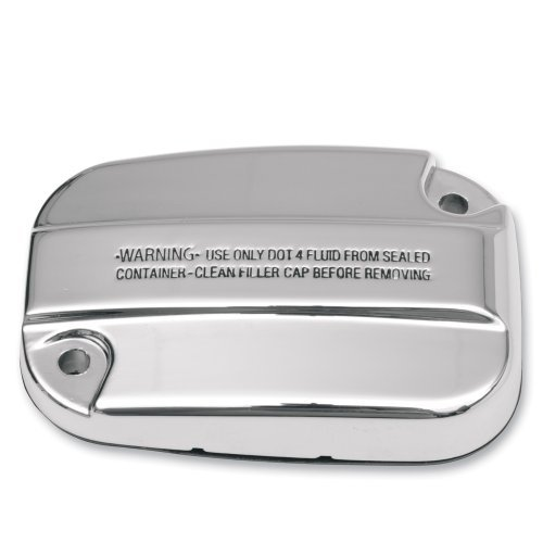 Chrome Master Cylinder Cover - Hill Country Customs Chrome Master Cylinder Cover Harley-Davidson Touring - HC-10031