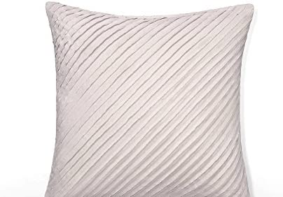 Calvin Klein Home 2510035-SU-S1-D2 Nocturnal Blossoms Cut Lines Pillow, 18 x Pillow