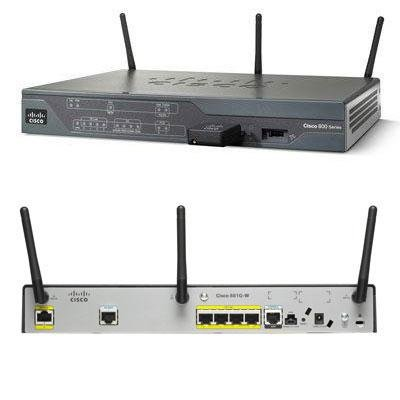 Cisco CISCO881W-GN-A-K9 Ethernet Security Router