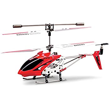 amazon com syma s107 s107g r c helicopter with gyro red syma