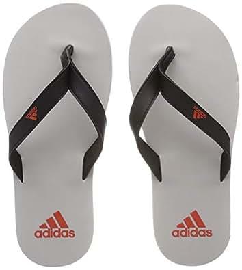 adidas Men's Eezay Flip Flop Shoes, Core Black/Raw Amber/Grey Two, 7 US (7 AU)