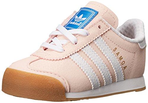 adidas originali samoa sono scarpe da corsa (neonati e bambini), rossore rosa
