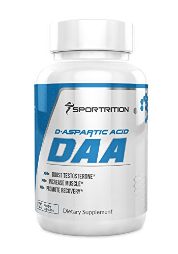 Sportrition D Apartic Acid Dietary Supplement 3000 mg, DAA
