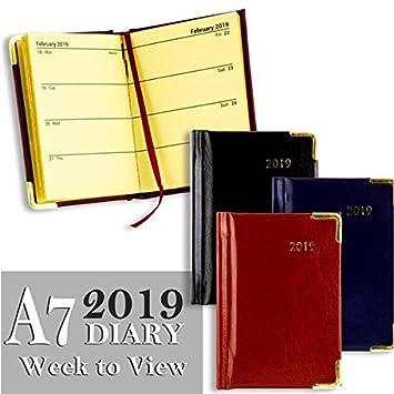Premier Stationery S5718557 - Agenda semanal (A7, vista ...