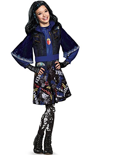 Disguise 88116L Evie Isle Of The Lost Deluxe Costume, Small (4-6x) ()