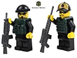 Custom Army Builder Military Minifigure - SWAT Urban Sniper Team