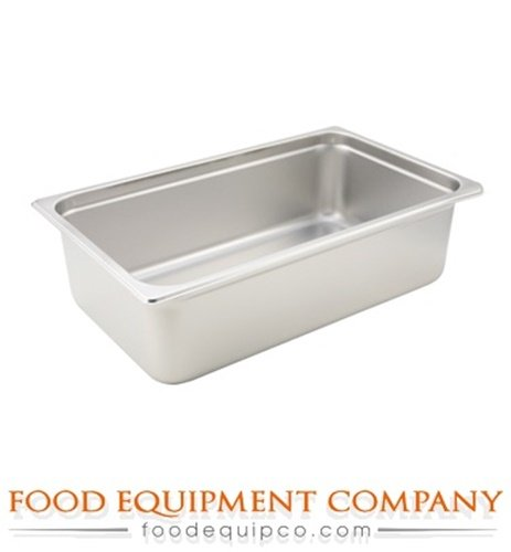 - Winco SPJH-106 Steam Table Pan, full size, 6