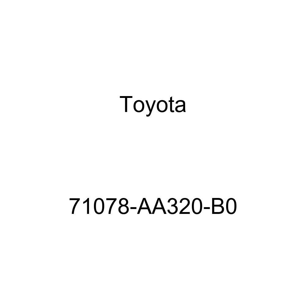 TOYOTA Genuine 71078-AA320-B0 Seat Back Cover