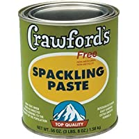 CRAWFORD PRODUCTS COMPANY, INC. 31904 Quart Spackling Paste by CRAWFORD PRODUCTS COMPANY